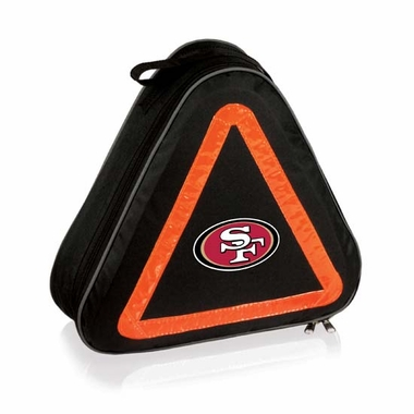 San Francisco 49ers Roadside Emergency Kit (Black)