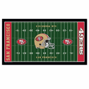 San Francisco 49ers Runner Mat