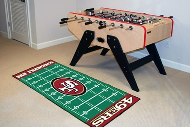 San Francisco 49ers Runner Rug