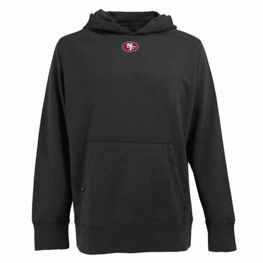San Francisco 49ers Mens Signature Hooded Sweatshirt (Alternate Color: Black)