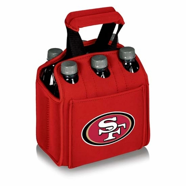 San Francisco 49ers Six Pack (Red)