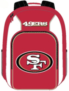 San Francisco 49ers Southpaw Youth Backpack