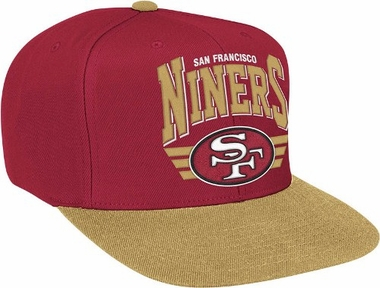 San Francisco 49ers Stadium Throwback Snapback Hat