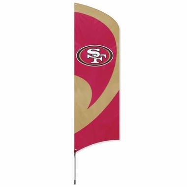 San Francisco 49ers Tall Team Flag