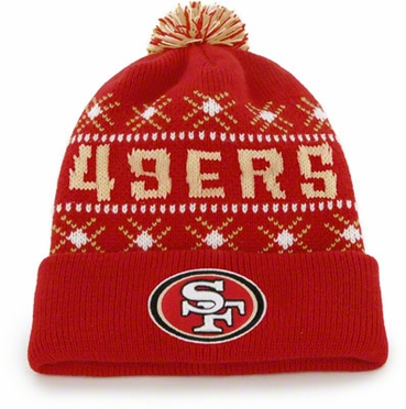 San Francisco 49ers Tip Off Cuffed Knit Hat