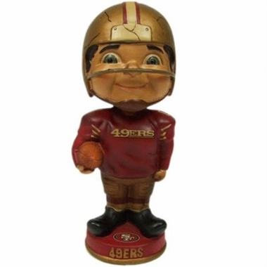 San Francisco 49ers Vintage Retro Bobble Head