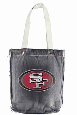 San Francisco 49ers Vintage Shopper (Black)