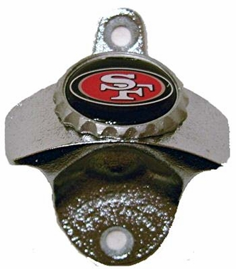 San Francisco 49ers Wall Mount Bottle Opener