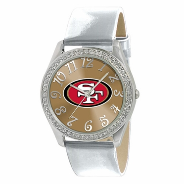 San Francisco 49ers Women's Glitz Watch