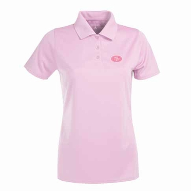 San Francisco 49ers Womens Exceed Polo (Color: Pink)