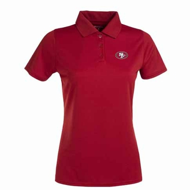 San Francisco 49ers Womens Exceed Polo (Color: Red)