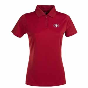 San Francisco 49ers Womens Exceed Polo (Team Color: Red) - Medium