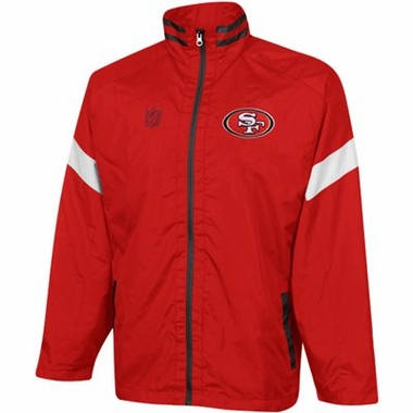 San Francisco 49ers YOUTH Goal Post Lightweight Full Zip Jacket