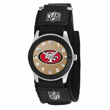 San Francisco 49ers Youth Rookie Watch (Black)