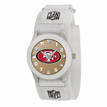 San Francisco 49ers Youth Rookie Watch (White)