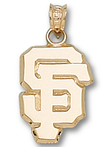 San Francisco Giants 10K Gold Pendant