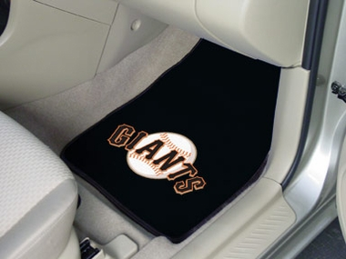San Francisco Giants 2 Piece Car Mats