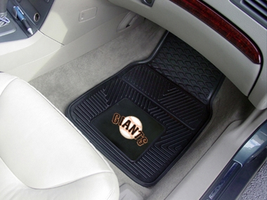 San Francisco Giants 2 Piece Heavy Duty Vinyl Car Mats