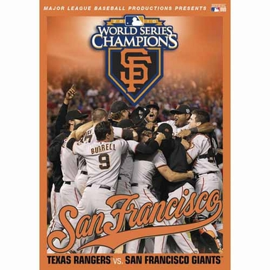 San Francisco Giants 2010 World Series DVD