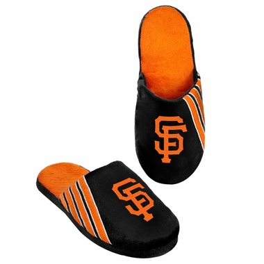San Francisco Giants 2012 Team Stripe Logo Slippers