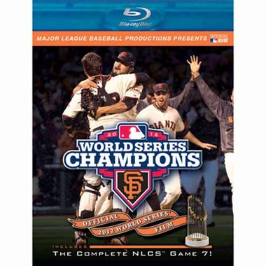 San Francisco Giants 2012 W.S. Champs Blu-Ray DVD