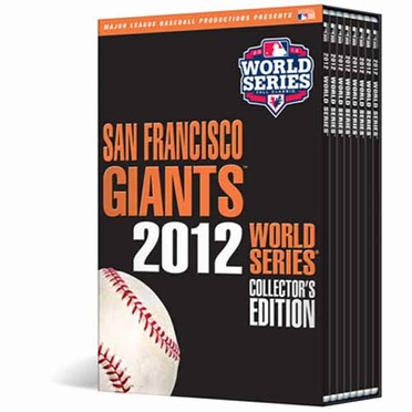 San Francisco Giants 2012 W.S. Champs Collectors Series DVDs