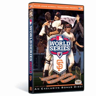 San Francisco Giants 2012 W.S. Champs DVD