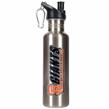 San Francisco Giants 26oz Stainless Steel Water Bottle (Silver)