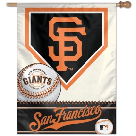 "San Francisco Giants 27"" x 37"" Banner"
