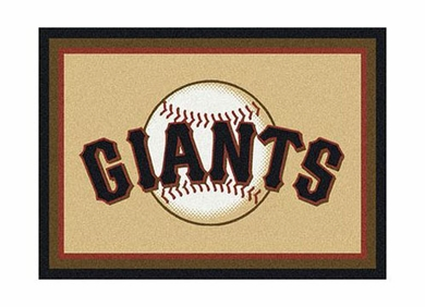 "San Francisco Giants 3'10"" x 5'4"" Premium Spirit Rug"