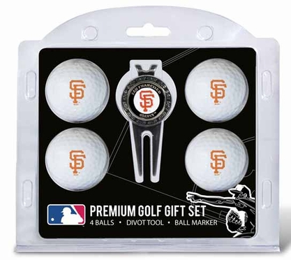 San Francisco Giants 4 Ball and Tool Gift Set