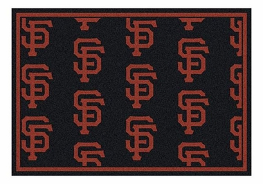 "San Francisco Giants 5'4"" x 7'8"" Premium Pattern Rug"