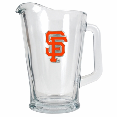 San Francisco Giants 60 oz Glass Pitcher