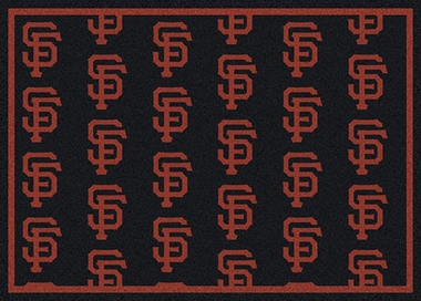 "San Francisco Giants 7'8 x 10'9"" Premium Pattern Rug"