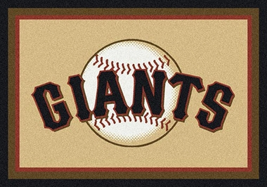 "San Francisco Giants 7'8"" x 10'9"" Premium Spirit Rug"