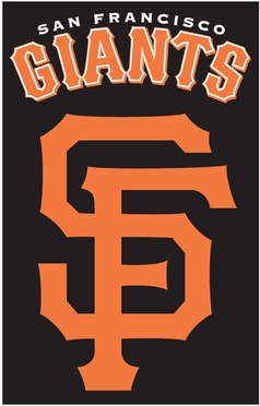 San Francisco Giants Applique Banner Flag