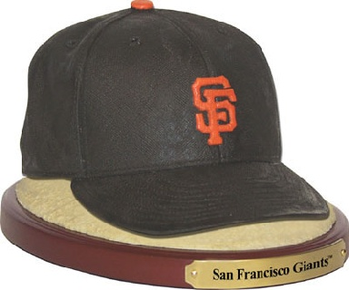 San Francisco Giants Ball Cap Figurine