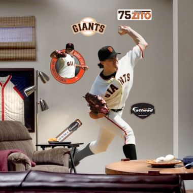 San Francisco Giants Barry Zito Fathead Wall Graphic