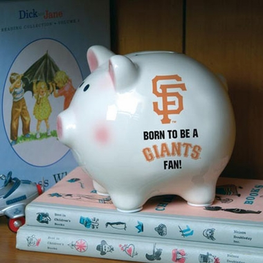 San Francisco Giants (Born to Be) Piggy Bank