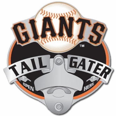 San Francisco Giants Bottle Opener Hitch Cover