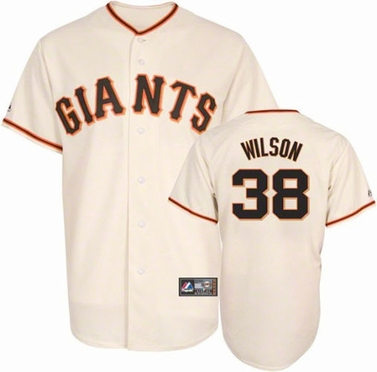 San Francisco Giants Brian Wilson Replica Player Jersey