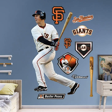 San Francisco Giants Buster Posey Fathead Wall Graphic