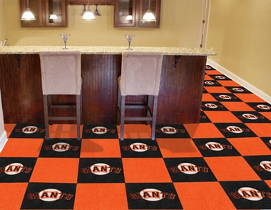 San Francisco Giants Carpet Tiles