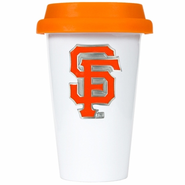 San Francisco Giants Ceramic Travel Cup (Team Color Lid)