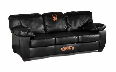 San Francisco Giants Leather Classic Sofa