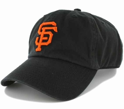 San Francisco Giants Clean Up Adjustable Hat - Black