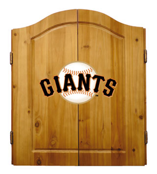 San Francisco Giants Complete Dart Cabinet