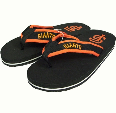 San Francisco Giants Contoured Flip Flop Sandals