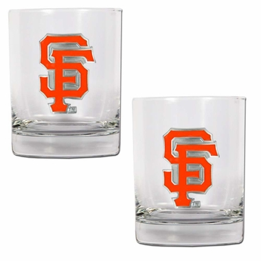 San Francisco Giants Double Rocks Set
