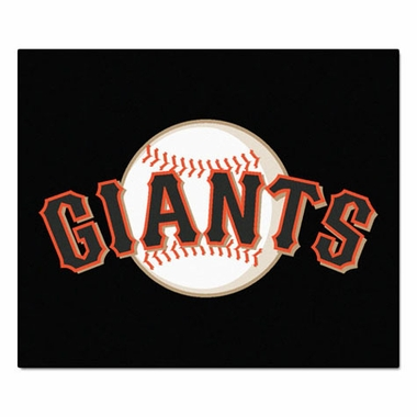 San Francisco Giants Economy 5 Foot x 6 Foot Mat